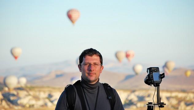 Георги Палов и панорамните фотографии
