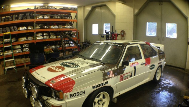Audi Qattro A2 Group B Rally Car