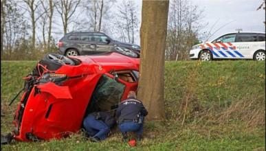 F12 Berlinetta с тотална щета