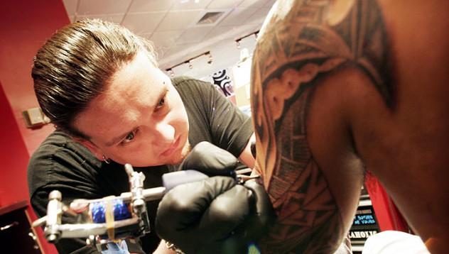 Да бъдеш татуиран на специално място