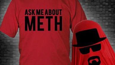 Тениска с Breaking Bad мотиви