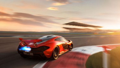 McLaren P1 на Нюрбургринг