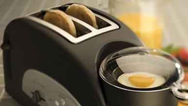 Тостер, който прави яйца