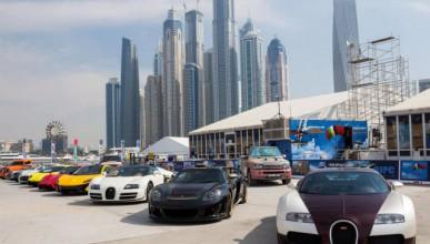 Как изглежда паркинга на мол в Дубай