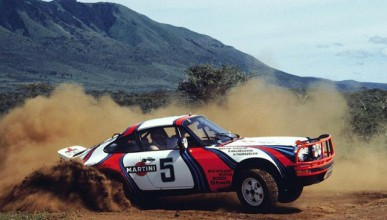 Porsche за сафари