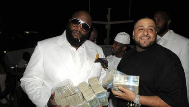 Рапърите, които харчат най-много пари в бар