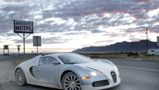 Къде се шофира Bugatti Veyron в САЩ