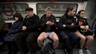 Хората без гащи в метрото