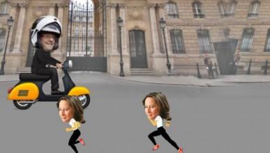 Когато френският президент кръшка