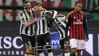 Милан отново удари на камък