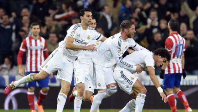 Реал Мадрид доминира