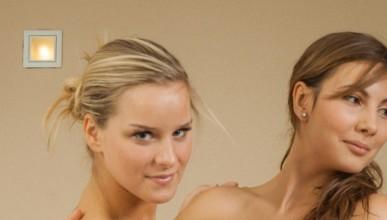 Кендис, Жозефин и Миела в банята