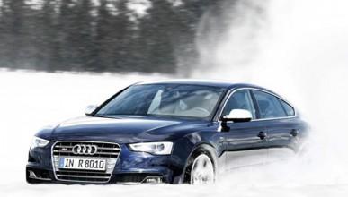 Audi S5 не обича да дрифти