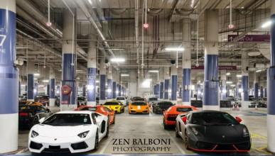 Lamborghini те кани на вечеря