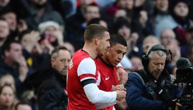Арсенал върна жеста на Ливърпул