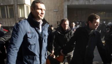 Кличко изнася жертви по време на сблъсъците в Украйна