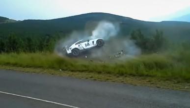 Nissan GT-R пострада в състезание