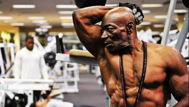 70-годишен бодибълдър, който не иска да се откаже