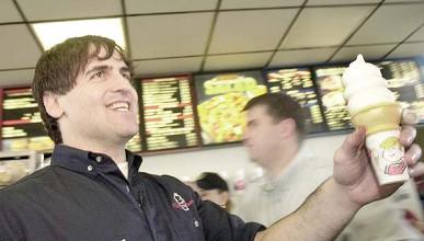 Марк Кубан работил в Dairy Queen