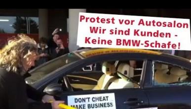 Собственик на BMW публично унищожи автомобилът си