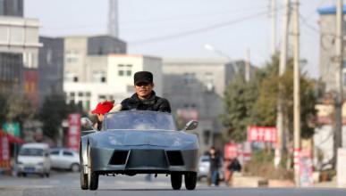 Китаец направи реплика на Lamborghini