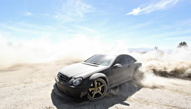 Mercedes-Benz CLK63 AMG Black Edition
