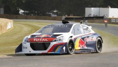 Peugeot 208 T16 Pikes Peak отива на GoodWood