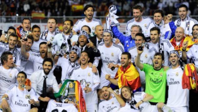 Реал Мадрид спечели Купата на краля