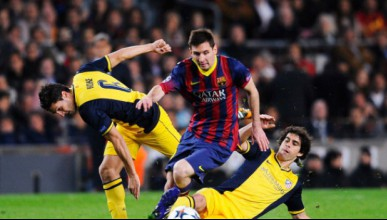 Барселона и Атлетико Мадрид с равенство
