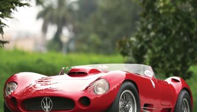 Един от най-редките модели на Maserati отива на търг