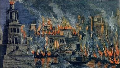 Александрийската библиотека е една от най-големите исторически трагедии
