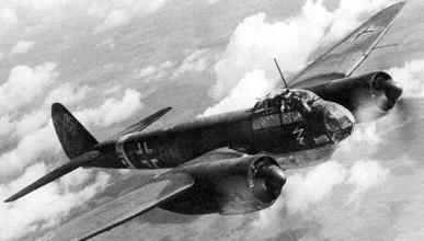 Когато германски бомбардировач се приземи на английска писта