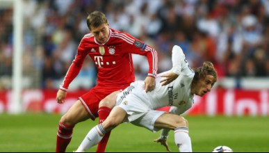 Реал Мадрид с един гол в аванс