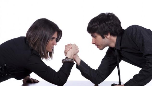 Разликата между мъжката и женската агресия