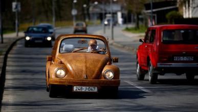 VW от дърво