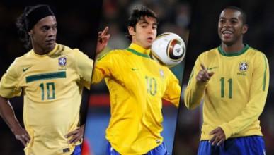 Неповиканите играчи на Бразилия