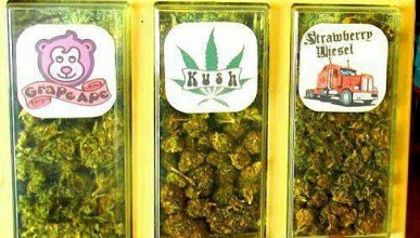 Вендинг машина предлага марихуана