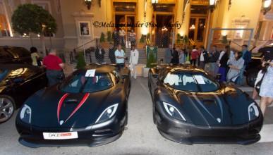 Най-екзотичните модели на Koenigsegg в Монако