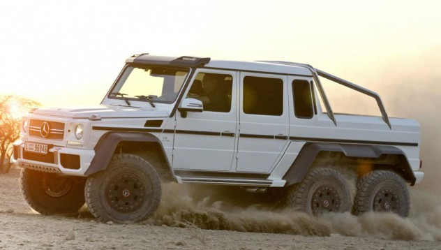 Mercedes-Benz 6x6 под наем