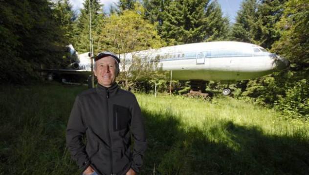 Боинг 727 се превръща в дом за 130 000 паунда