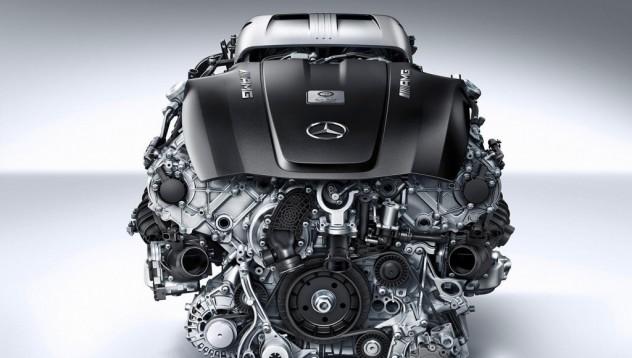 AMG показват новия двигател