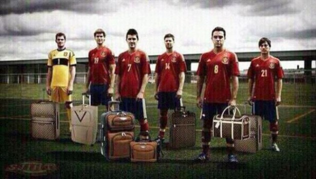 Испанците напускат Бразилия
