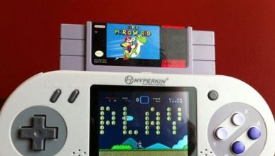 Super Nintendo в джобен вариант