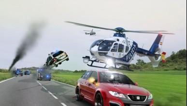 Полицаи преследваха заподозрян с краден автомобил