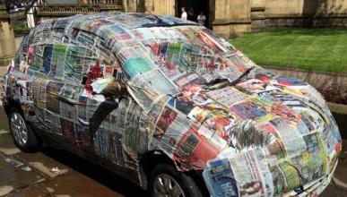 Автомобилното отмъщение се сервира с вестник