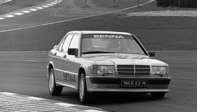 Първата победа на Сена e с Mercedes-Benz