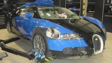 Ударен Veyron за продан