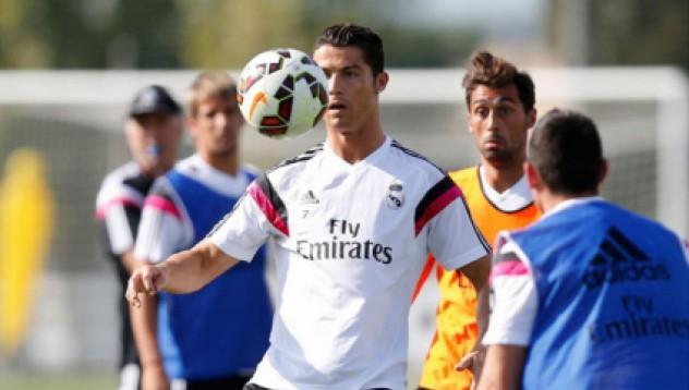 Роналдо възобнови тренировките