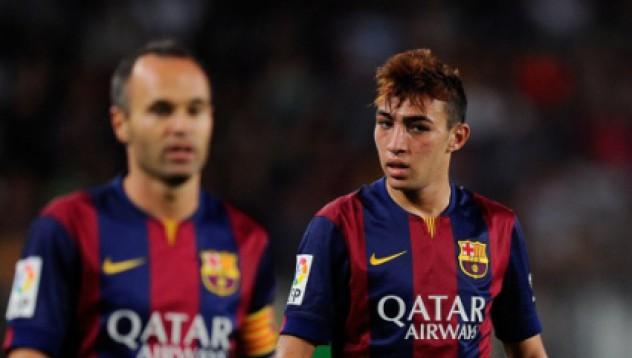 Венгер оглежда таланти на Барселона