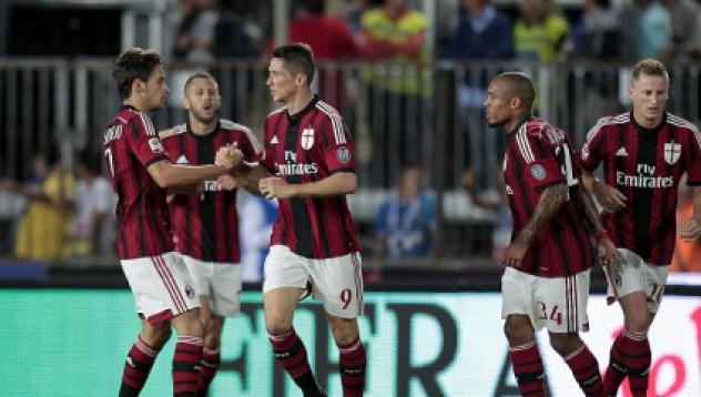 Милан обърна загуба в равенство